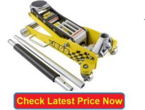 JEGS Low-Profile Aluminum 3 Ton Floor Jack
